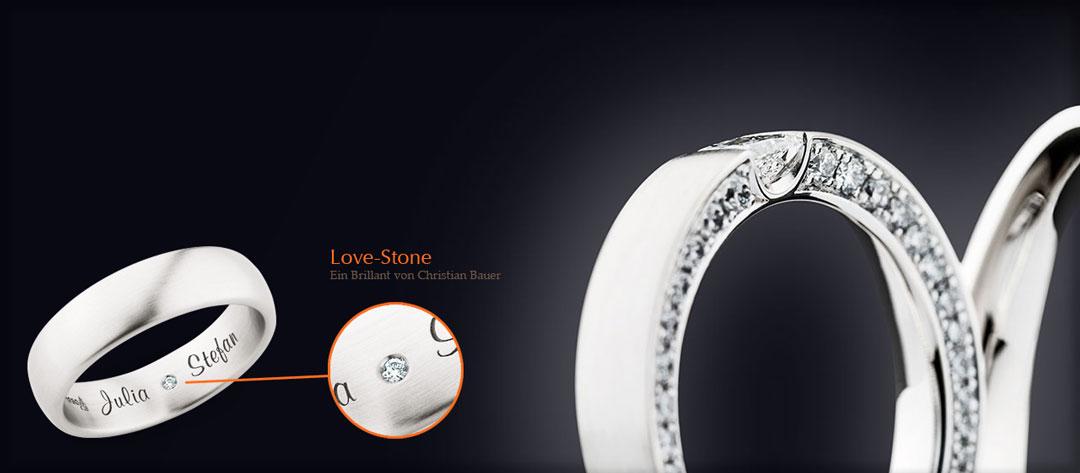 Der Love-Stone von Christian Bauer| Juwelier Stahl Würzburg