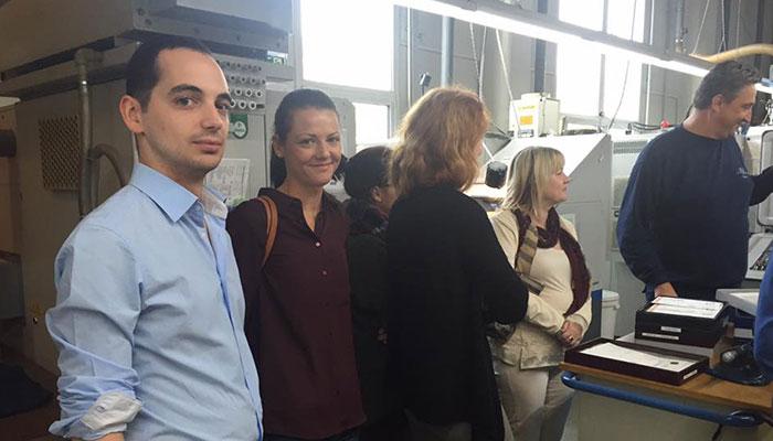 Besuch der Trauringmanufaktur EGF