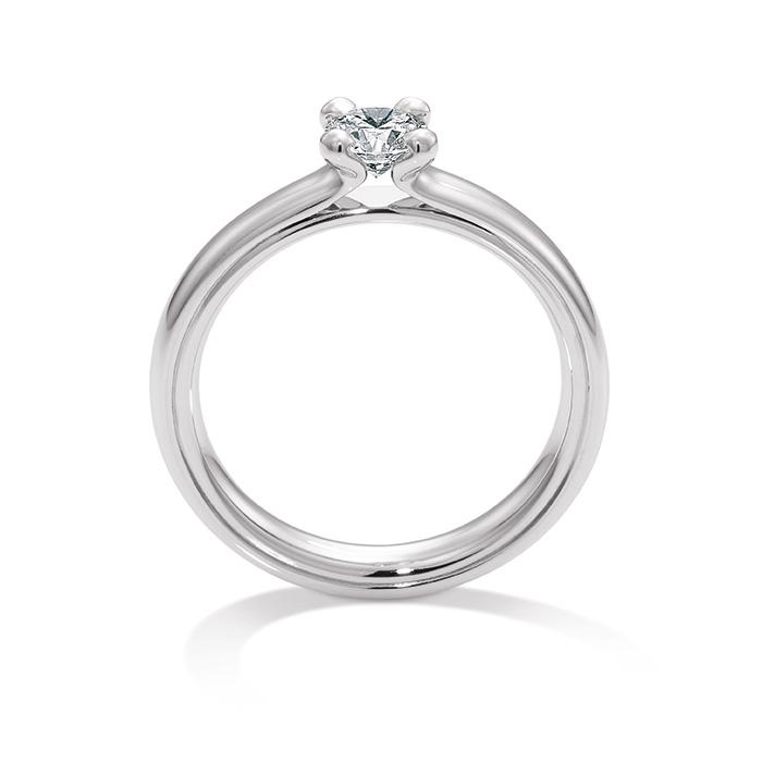 Massiv verarbeitete Verlobungsringe von Christian Bauer | Juwelier Stahl Würzburg