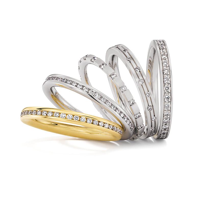 Kombinationsmöglichkeiten bei Bauer Verlobungsringen | Juwelier Stahl Würzburg